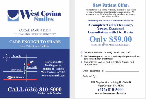 Dental Coupon New Patient